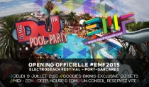Pool Party DJ MAG (Opening EMF2015)
