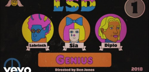 LSD feat. Sia, Diplo, Labrinth 'Genius'